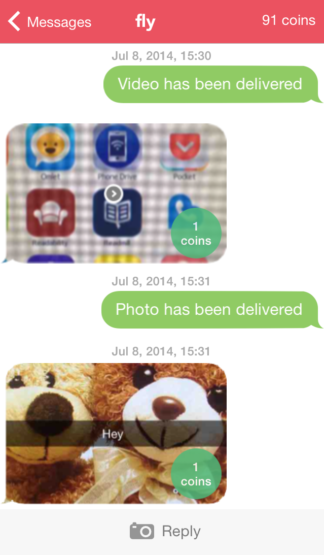 snaphack chats on iphone