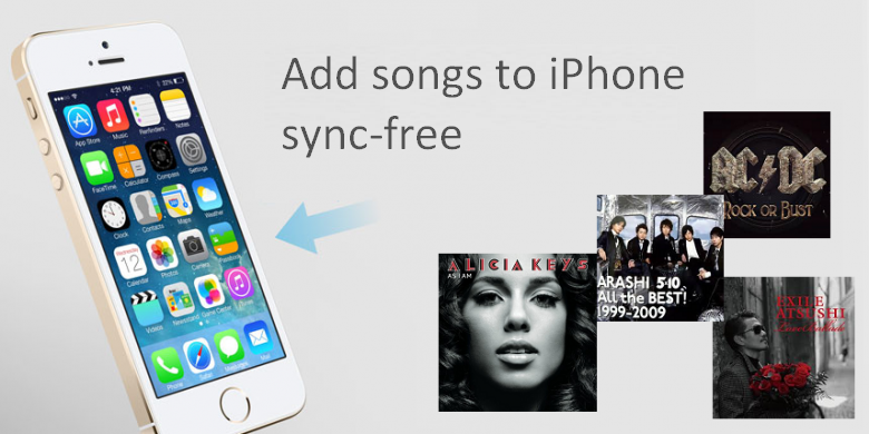 Add songs to iPhone without iTunes