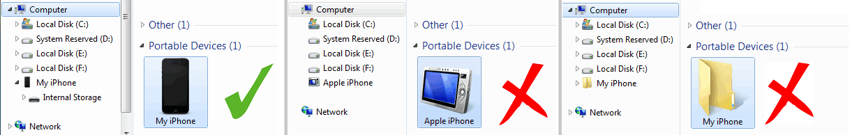 computer not detecting iphone solved computer and itunes not recognizing iphone all 13844