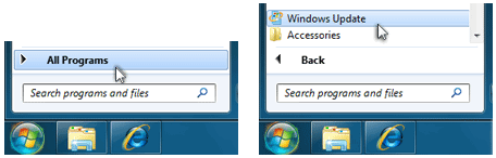 windows update instructions