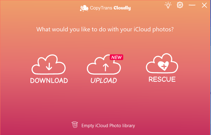 Delete photos from iCloud Photo Library