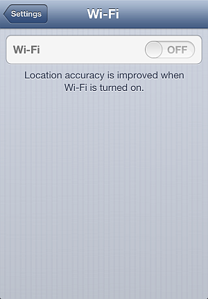iphone wifi switch dim and inaccessible
