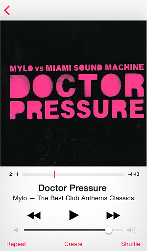 doctor pressure by mylo on iphone 6