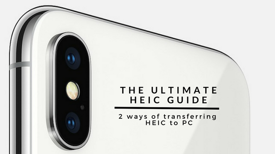 2 ways of transferring heic to pc