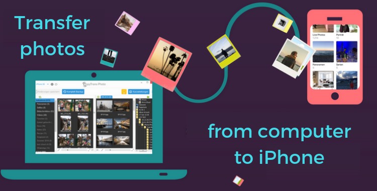 An article on how to transfer photos from PC to iPhone
