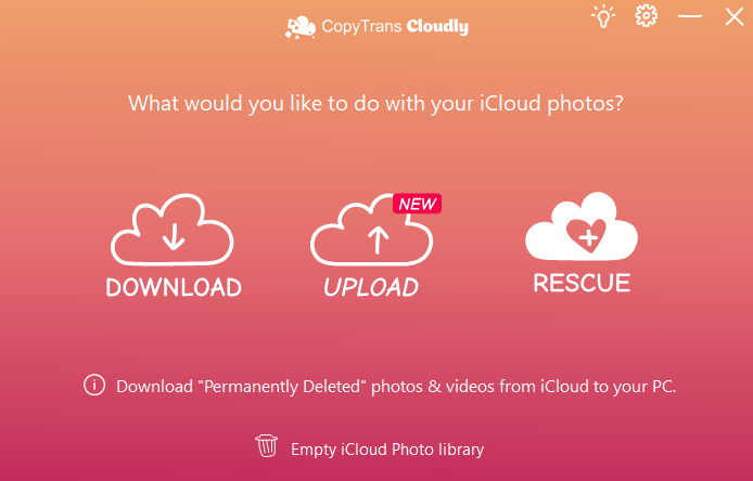 Retrieve permanently deleted photos from iCloud Photo Library