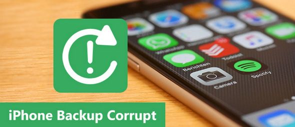 iPhone backup corrupt