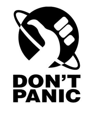 don't panic picture