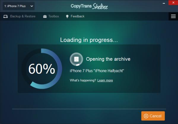 loading in progress