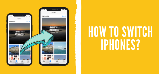 how to switch iPhones cover