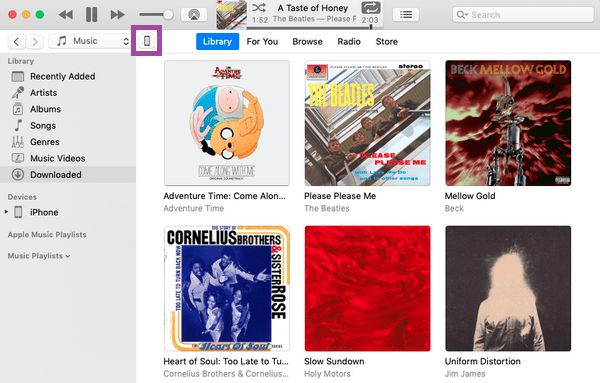 how to restore from iTunes on mac step 1