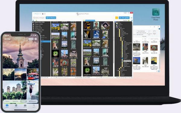 Backup iPhone photos to computer
