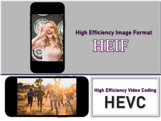 HEIF and HEVC
